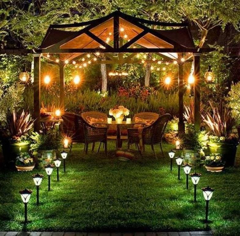 Záhrada plná svetla